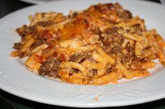 Semi Homemade Mom: Taco Mac Casserole