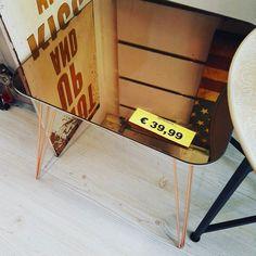 Tavolino Fumo specchio bronzo 3999 #spazioliberohome #spazioliberonews #spazioliberoarredadal1987