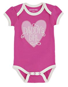 Daddy's Girl Baby One Piece