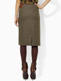 RL Wool Skirt