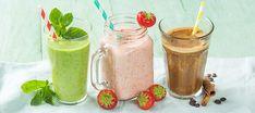 Met welke smoothie sta jij op: de aardbei yoghurt smoothie, de groene smoothie of de cool coffee smoothie? Lees verder voor de recepten en winactie!