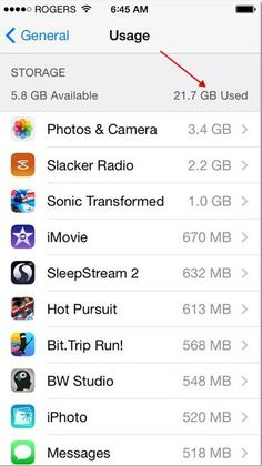 Tips and Tricks Vol 5 – Managing Storage on Your iPad