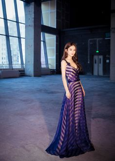 Zhao Li Ying is Radiant in Purple at the Press Conference for New Fantasy Zhu Xian C-drama Qing Yun Zhi | A Koala's Playground