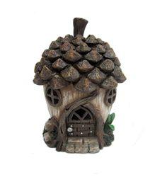 Fairy Garden Resin Acorn House