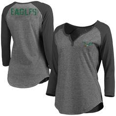 7c94ad39 Women's NFL Pro Line Gray Philadelphia Eagles Philips Henley 3/4-Sleeve  T-Shirt. Vikings FootballMinnesota ...