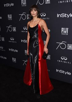 Nina Dobrev Photos - Actress Nina Dobrev attends the Hollywood Foreign Press Association (HFPA) and InStyle celebration of the 75th Annual Golden Globe Awards season at Catch LA in West Hollywood, on November 15, 2017. / AFP PHOTO / CHRIS DELMAS - Hollywood Foreign Press Association and InStyle Celebrate the 75th Anniversary of the Golden Globe Awards - Arrivals