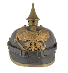 A Prussian Other Ranks Picklehaube  Dated 1912