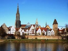 Ulm, Germany.  My ancesterial home.  Some day I'd love to go there.