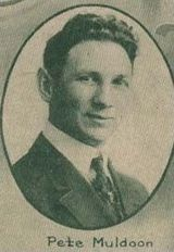 ICE HOCKEY: Pete Muldoon, was a Canadian ice hockey coach and pioneer in the western United States, particularly known for bringing a Stanley Cup championship to Seattle, Washington. He is best known for reportedly putting a curse on the Chicago Blackhawks when he was fired as their coach.