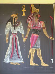 Naar aanleiding van ons toneelstuk. Isis en Osiris. Klas 5.
