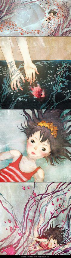 Khoa Le - Ocean dream #Digital #Art, #Drawing, #Illustration