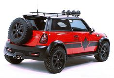 I would love to have this MINI Cooper S 4WD. So sad it's not a production vehicle, but a custom job for rally racing.