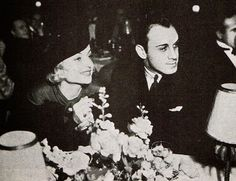 ... out with singer/composer Russ Columbo at the Cocoanut Grove in 1934
