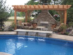 Having a pool sounds awesome especially if you are working with the best backyard pool landscaping ideas there is. How you design a proper backyard with a pool matters. Amazing Swimming Pools, Swimming Pool House, Small Swimming Pools, Swimming Pool Designs, Cool Pools, Lap Pools, Small Pools, Backyard Pool Landscaping, Backyard Pergola