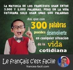 Si visitas Francia, con 300 palabras en francés ya puedes desenvolverte  en cualquier situación de la vida cotidiana