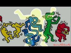 El doodle de Google para Keith Haring