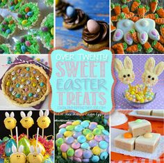 Over 20 Easter Dessert Recipes from ishouldbemoppingthefloor, #easter, #sweets, #desserts