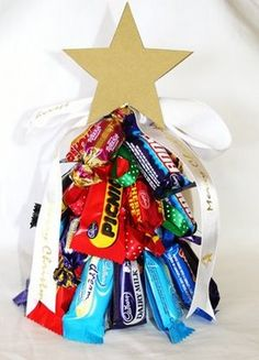 It's all about us: Lolly Christmas Trees and Lolly Wreath