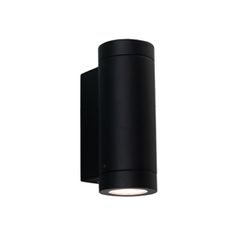 Porto Plus Twin Black Outdoor Wall Light