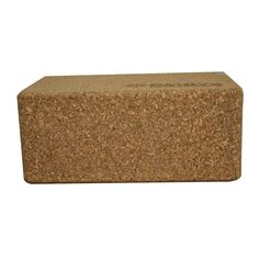 The Bintiva yoga block is stable, long lasting, and comfortable, making it a great choice for supported backbends and many standing and sitting poses. The cork construction, crafted from eco-friendly
