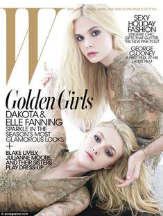 Dakota & Elle Fanning. When I was writing I often had them in my head as Lorrie and Susannah.