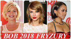 Znalezione obrazy dla zapytania modne fryzury damskie 2018