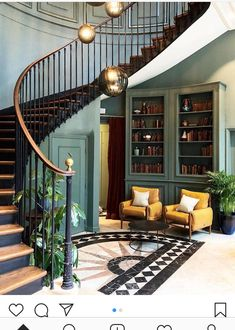 Discover The Different Italian Living Room Styles House Design, House Interior, House Stairs, House, Stairways, Hotel Hoxton, Home Decor, Hotel Interiors, Hotel Interior Design