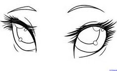 Anime drawing Female crying eyes begginers - Bing Images