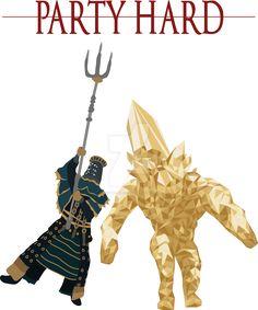 Dark Souls party hard by DigitalCleo on DeviantArt