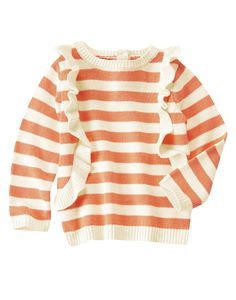 Ruffle Stripe Sweater at Crazy 8