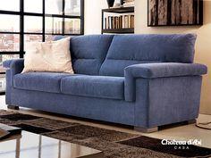 divano azzurro