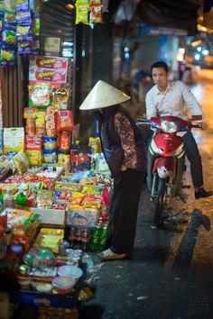 Shopping in Hanoi, Vietnam