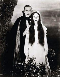 Classic.  Bela Lugosi and Carroll Borland in Mark of the Vampire (1935)