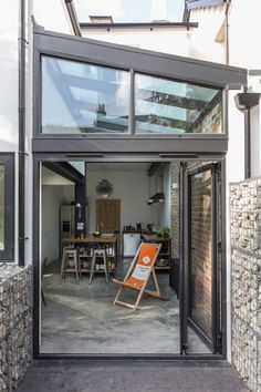 Contemporary Glass Side Extension