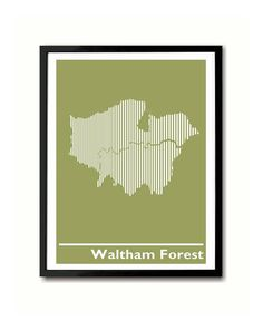 Waltham Forest  Walthamstow Leytonstone Chingford by indieprints