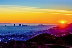 Fog v. Smog in the Los Angeles basin. Photo: Carl Larson