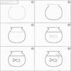 Drawing Doodle Easy Learn how to draw fun things with easy instructions, also great for/to do with kids! Twice a week new random things to draw online. Doodle Drawings, Doodle Art, Cute Drawings, Easy Drawings For Kids, Drawing For Kids, Drawing Ideas, Drawing Lessons, Art Lessons, Online Drawing