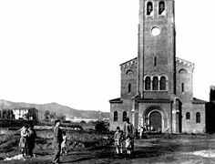 Església de Cristo Rey, abans d'edificar al voltant (anys 40-50?)