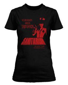 METALLICA - SANITARIUM Cliff Burton Womens T-shirt: ALL SIZES