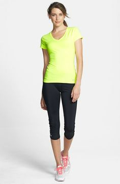 Under Armour Tee & Capris  available at #Nordstrom