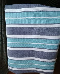 Weaving Textiles, Weaving Patterns, Weaving Projects, Tear, Tea Towels, Pattern Design, Hand Weaving, Stripes, Throw Pillows