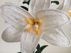 Il Blog di Sam: How to crochet white Lily