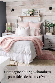 Winter Bedroom, Cozy Bedroom, Bedroom Small, Rustic Girls Bedroom, Bedroom Girls, Winter Bedding, Master Bedrooms, Bedroom Vintage, Bedroom Bed