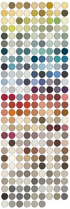Color Stories palette - 240 new colors for Aura interior paint from Benjamin Moore. The full-spectrum line features a palette divided into Color Stories (such as Elemental Greens, Fluid Blues, & Violet Twilight) formulated with up to 8 pigments (conventional paints feature 3). Notably, the paints are made without black or gray, which means they won't look muddy in dim light. The paints are available in a limited number of stores.