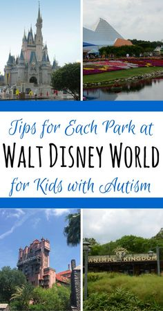 Which Walt Disney World Park is Best for Kids with Autism?: Learn about the benefits and challenges of each Disney park to help in your family's vacation planning.