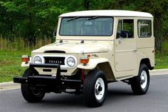1971 FJ40 Toyota Land Cruiser  (Frame off restoration from Hendrick Performance)