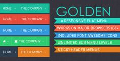 Deals Golden Menu - Responsive Flat Dropdown Menuso please read the important details before your purchasing anyway here is the best buy