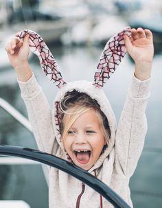 BLUZA KRÓLIK DUSTY ROSE | BOGINIE PRZY MASZYNIE | SHOWROOM Kids