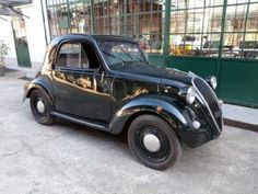 Black Saturday, Classic Trader, Fiat 500, Vintage Cars, Classic Cars, Automobile, Italy, Vehicles, Motorbikes