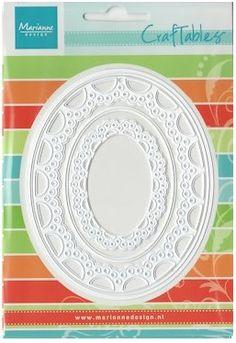 Marianne Design - Craftables Die - Passe-Partout Oval,$33.99